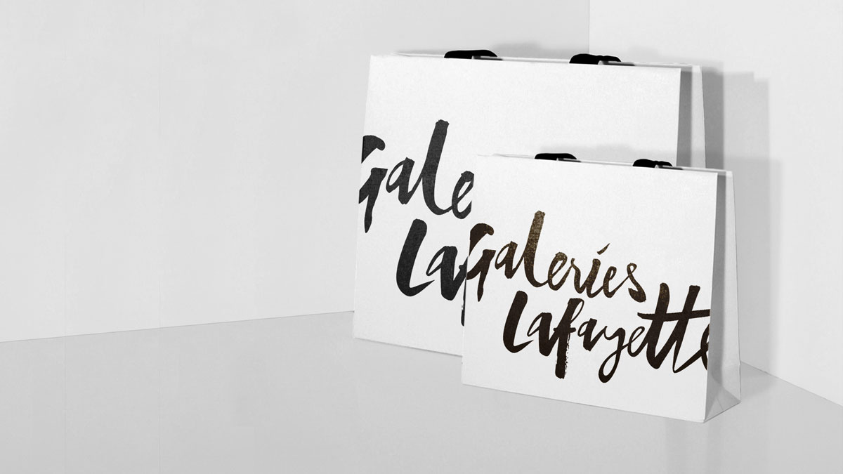 galeries lafayette packaging
