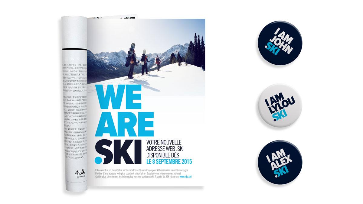 Pins & magazine .ski