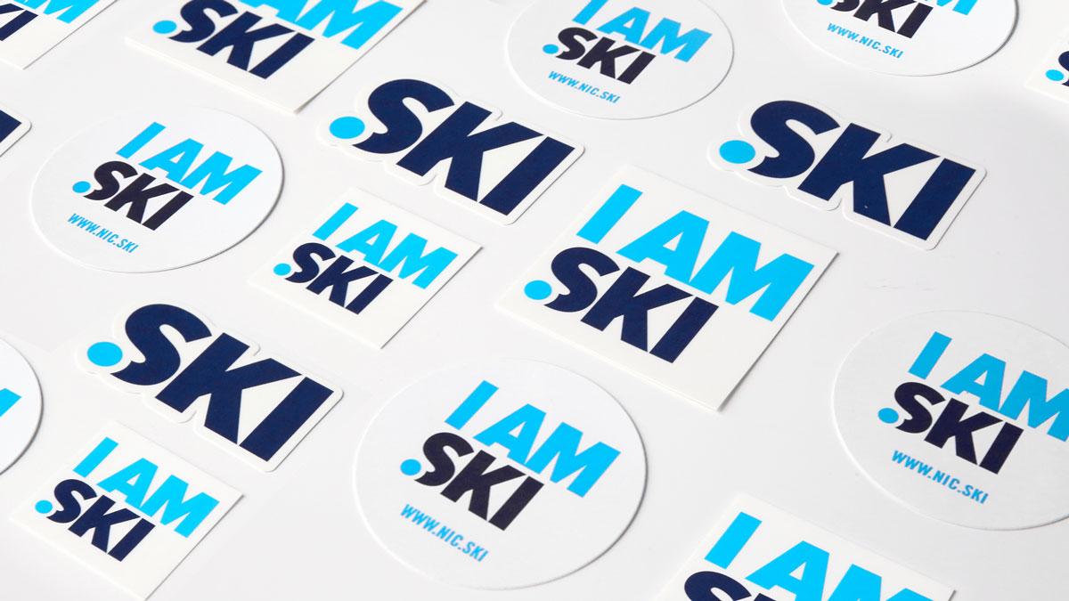 stickers ski