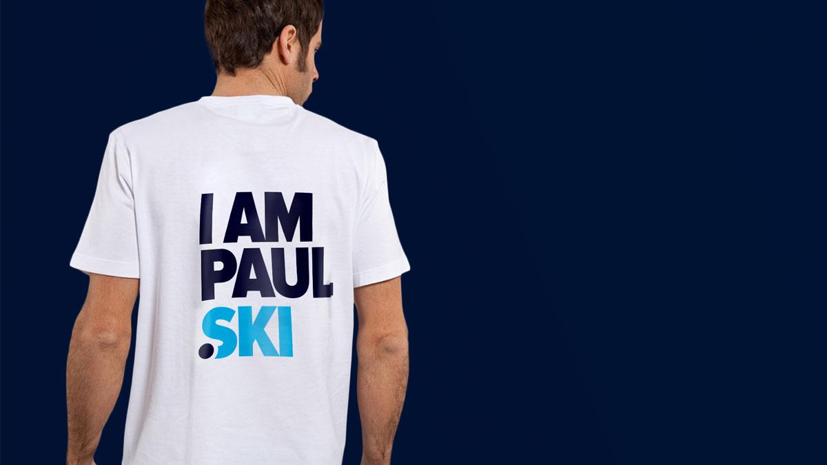 t-shirt .ski