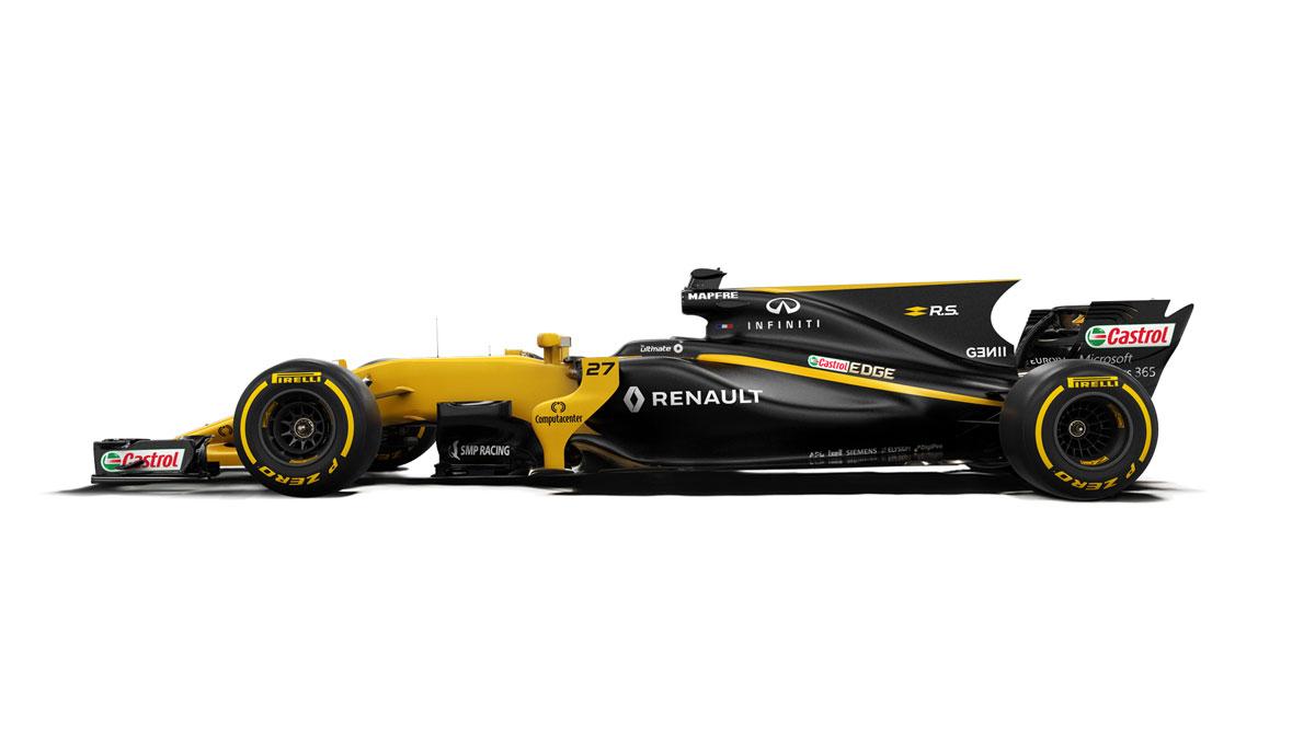 visuel F1 renault sport