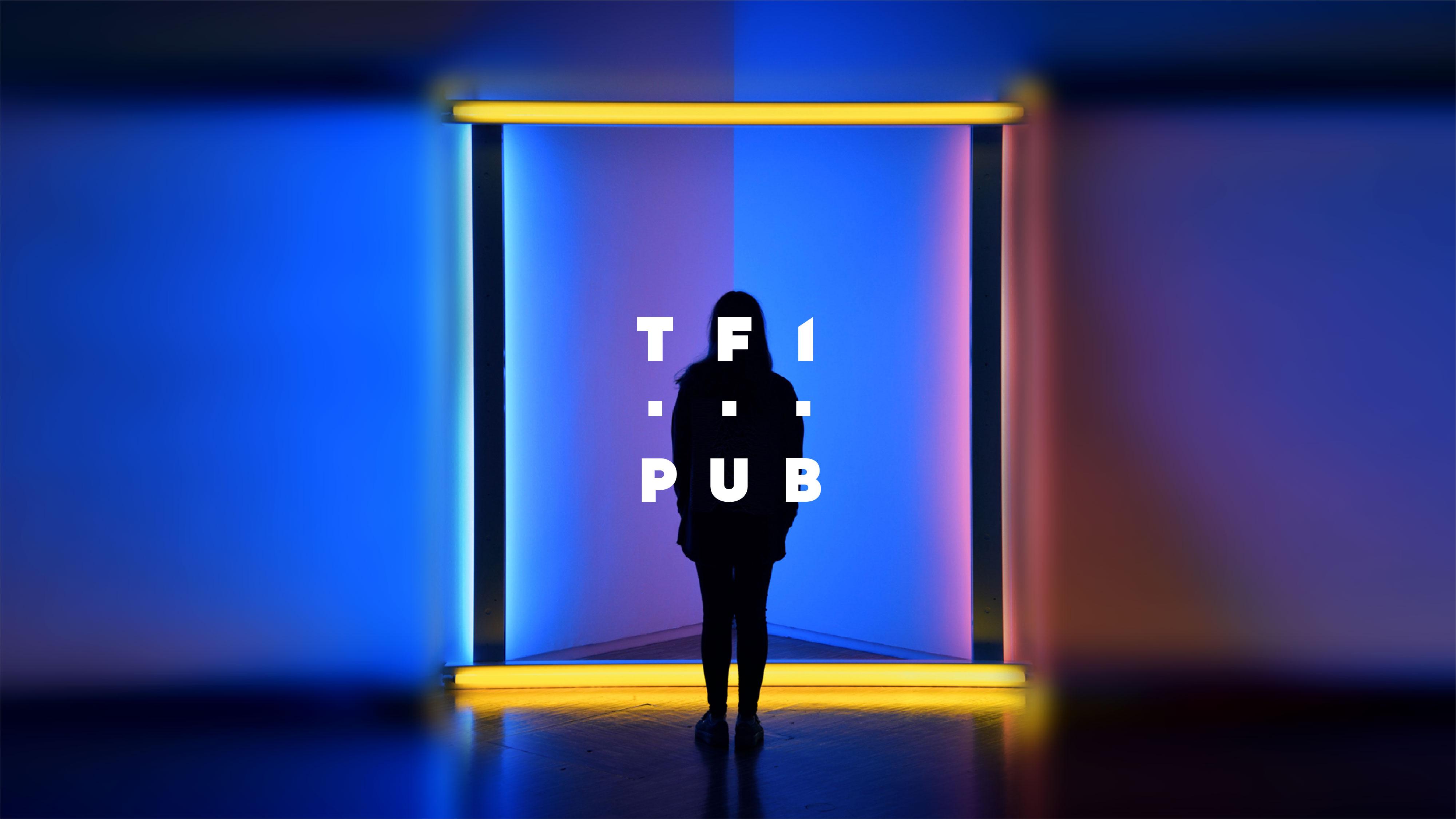 Iconographie représentative de TF1 Pub
